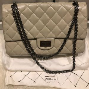 Chanel reissue large